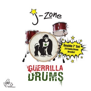 "Image of Guerrilla Drums - 7"" Double Vinyl"