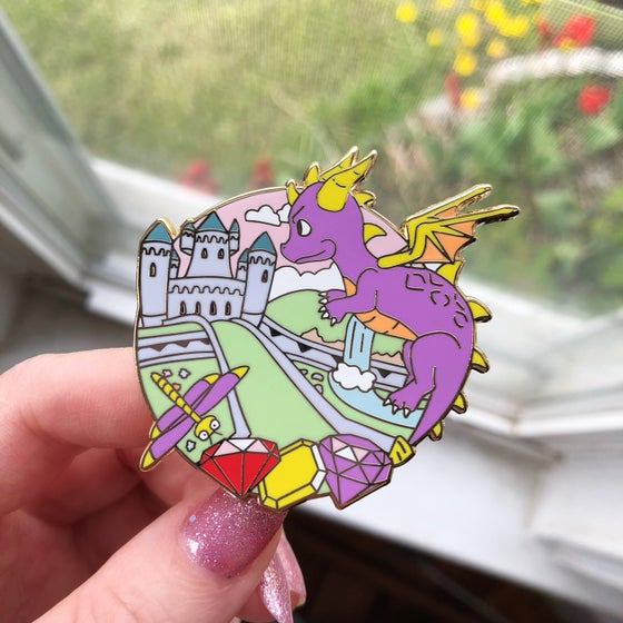 Image of Deluxe Dragon Enamel Pin