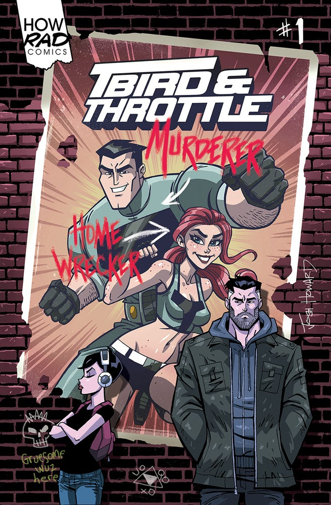 Image of T-Bird & Throttle #1