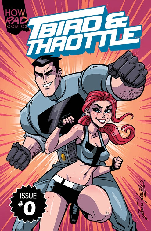 Image of T-Bird & Throttle #0