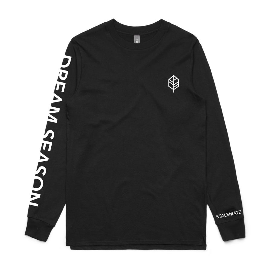 Image of DREAM SEASON - AS COLOUR LONGSLEEVE - BLACK