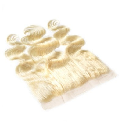 Image of 613 Blonde Lace Frontal - Platinum