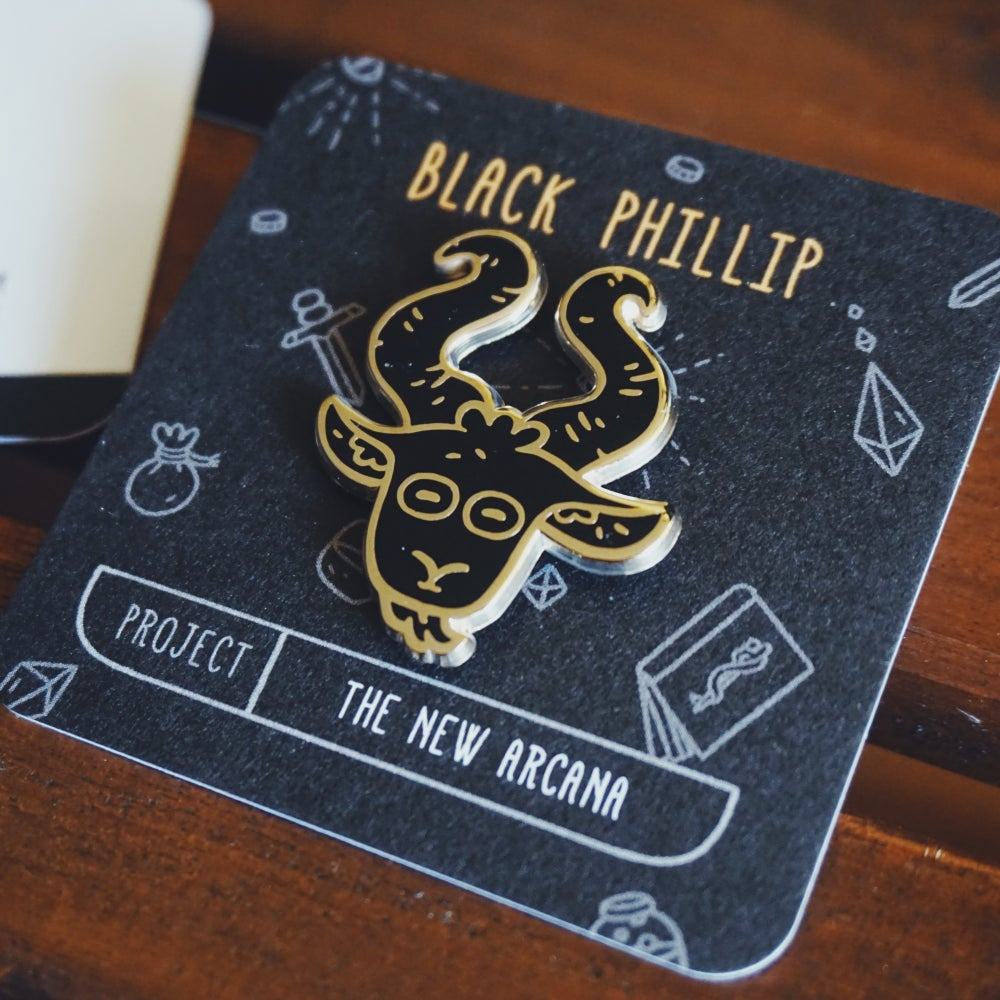 Image of BLACK PHILLIP PIN