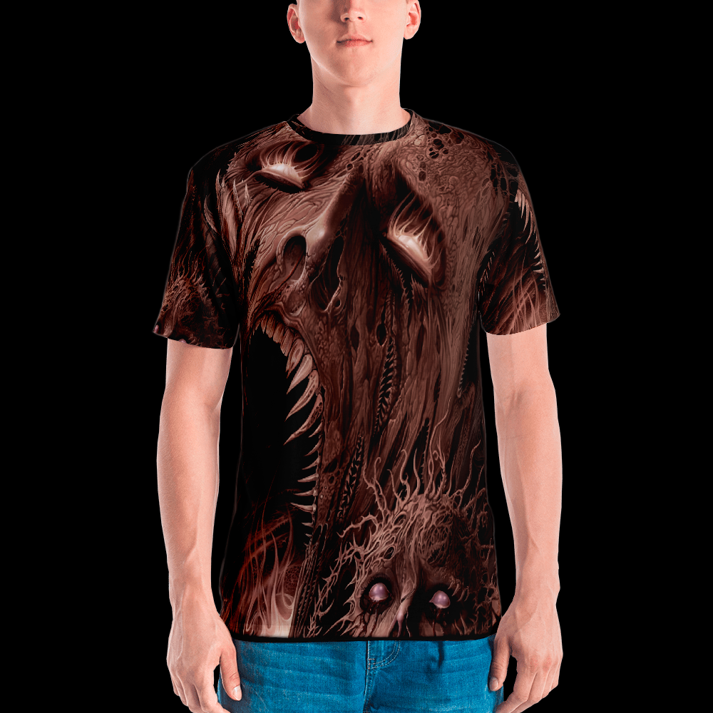 Screams From Beyond all over print shirt by Mark Cooper Art