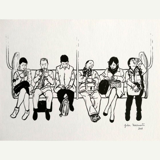 Image of Tokyo Train Prints