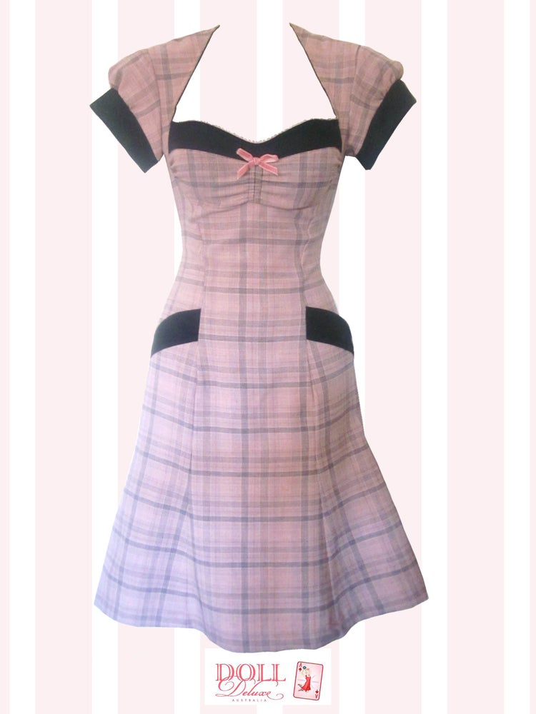 Image of  Dixie Belle Dress/Pink Plaid