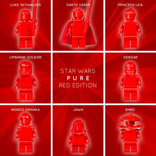 Image of STAR WARS PURE: RED EDITION