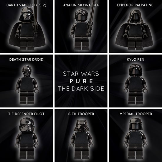 Image of STAR WARS PURE: THE DARK SIDE
