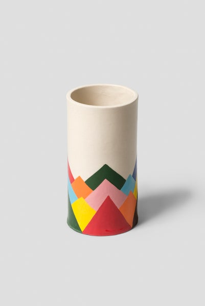 Image of Pauline Wolstencroft - Rainbow Mountain Vase
