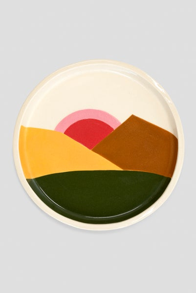 Image of Pauline Wolstencroft - Desert Mountain Medium Plate