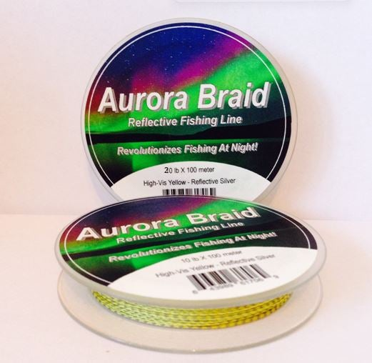 Image of 20 lb High-Vis Yellow Reflective Braid