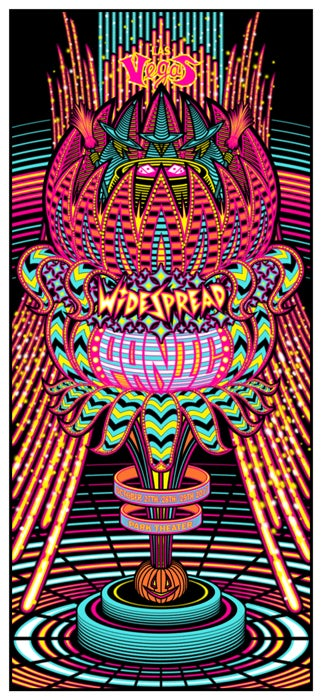Image of Widespread Panic • '17 Las Vegas Screen Print