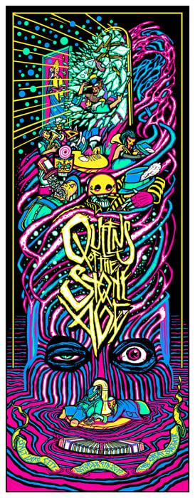 Image of QOTSA • '17 Salt Lake City Screen Print