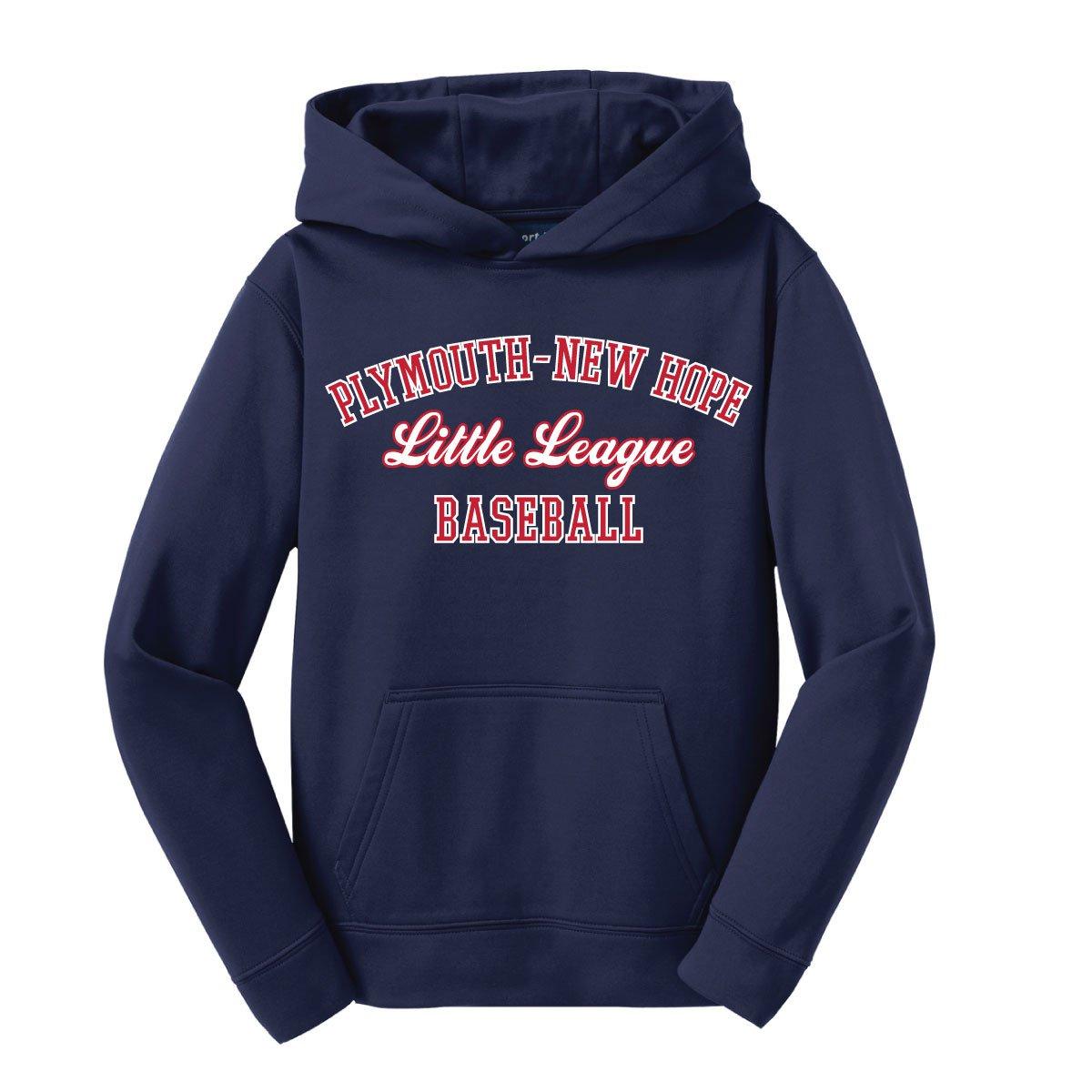 Image of Sport-Tek® Youth Sport-Wick® Fleece Hooded Pullover