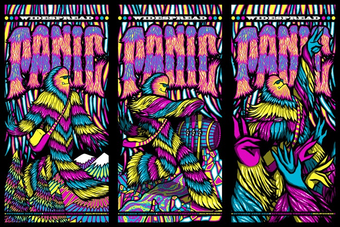 Image of Widespread Panic • '16 Three Nights In Milwookie