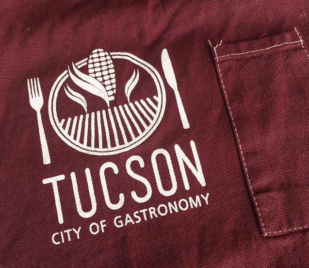 Image of Tucson City of Gastronomy Chef's Apron
