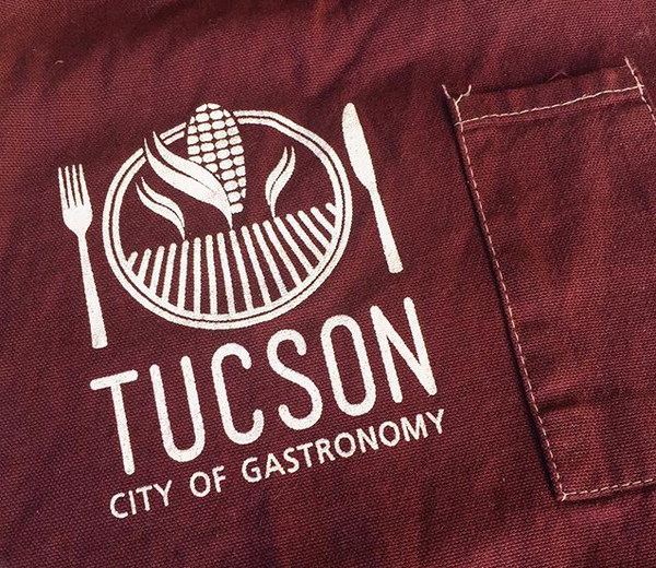 Image of Tucson City of Gastronomy Chef's Apron