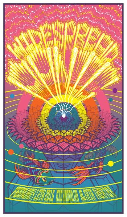 Image of Widespread Panic • '16 Richmond Screen Print