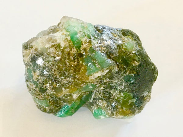 Image of Emerald in mineral matrix