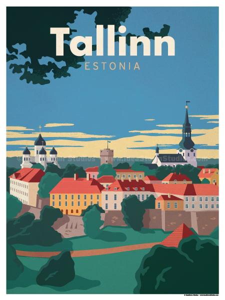 Image of Tallinn Poster