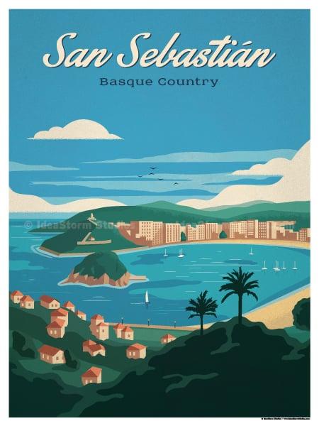 Image of San Sebastian Poster