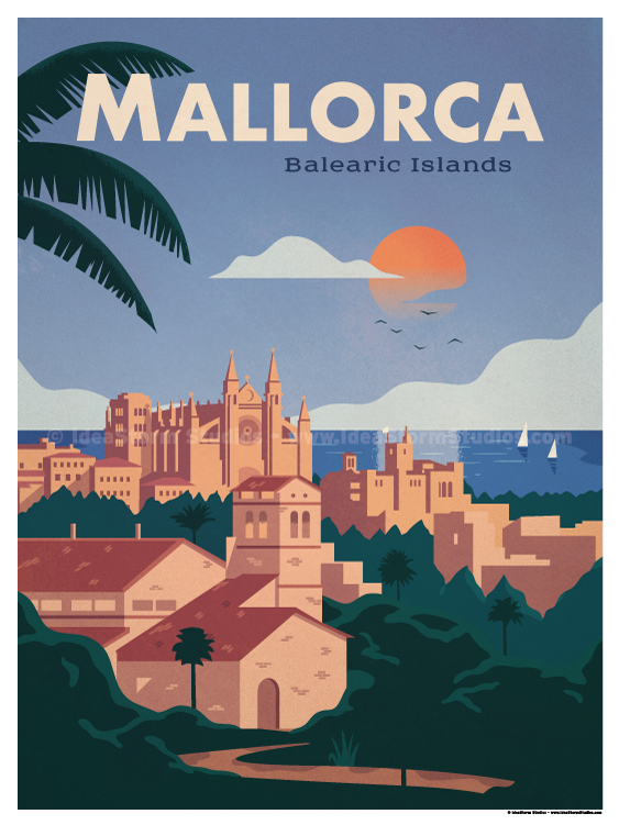 Image of Mallorca Poster