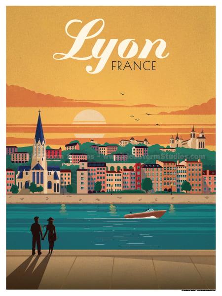 Image of Lyon Poster