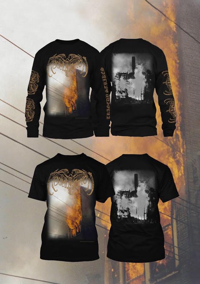 Image of Abomination - Tragedy Strikes T-shirt / Longsleeve