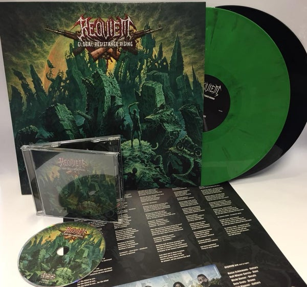 Image of REQUIEM - Global Resistance Rising CD or LP