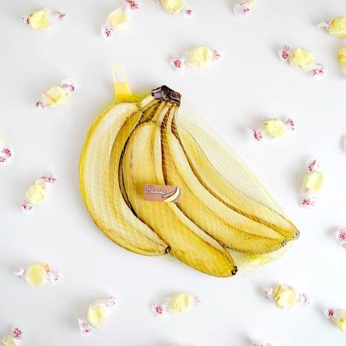 Image of Bunch of Bananas wood plaque