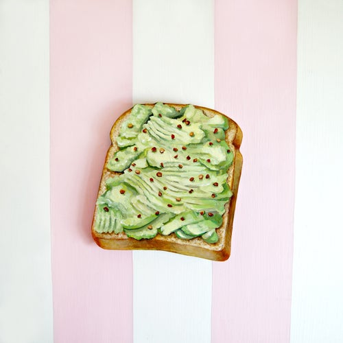 Image of Avocado Toast wood plaque