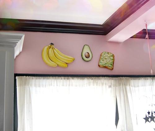 Image of Avocado wood plaque
