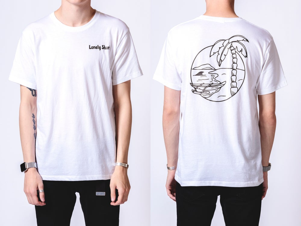Image of Lonely in Paradise [White]