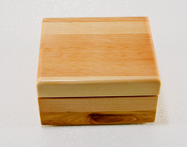 Image of Reclaimed Wood Jewelry Keepsake Box, Gift Box, Anniversary Gift, Wooden Treasury Box, Heirloom Box