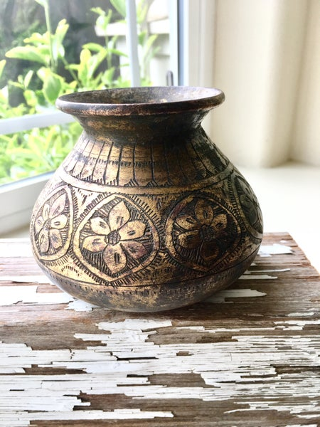 Image of Vintage Brass Vase