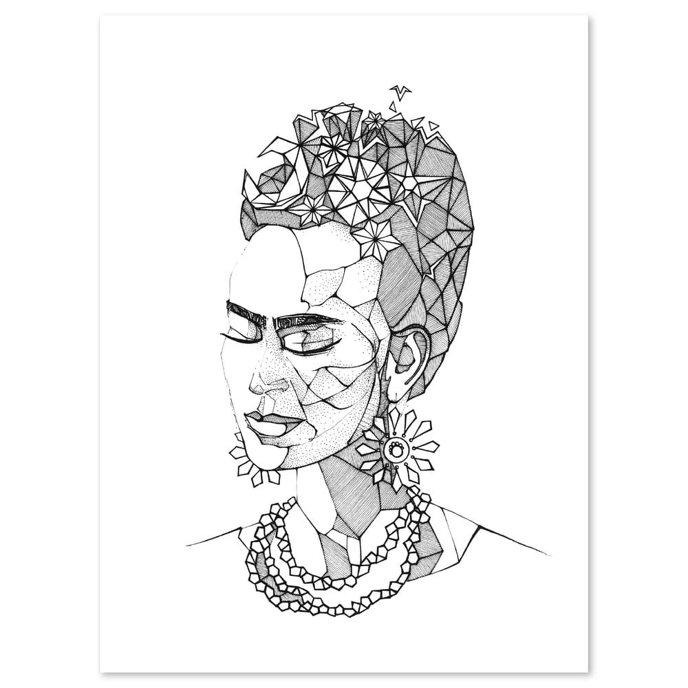 Image of Frida in Meditation