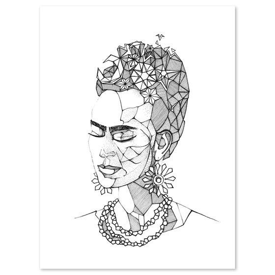 Image of Frida in Meditation