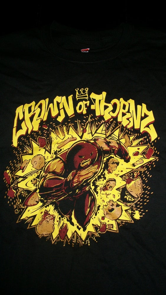 Image of CROWN OF THORNZ T SHIRT (IN STOCK)