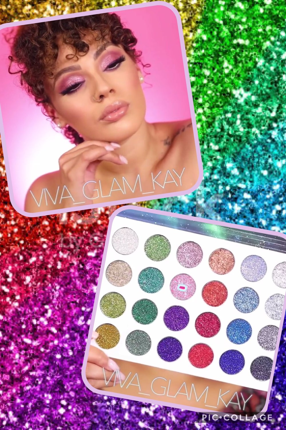 Image of Shar Vanity Unicorn Glitter Eyeshadow 🦄