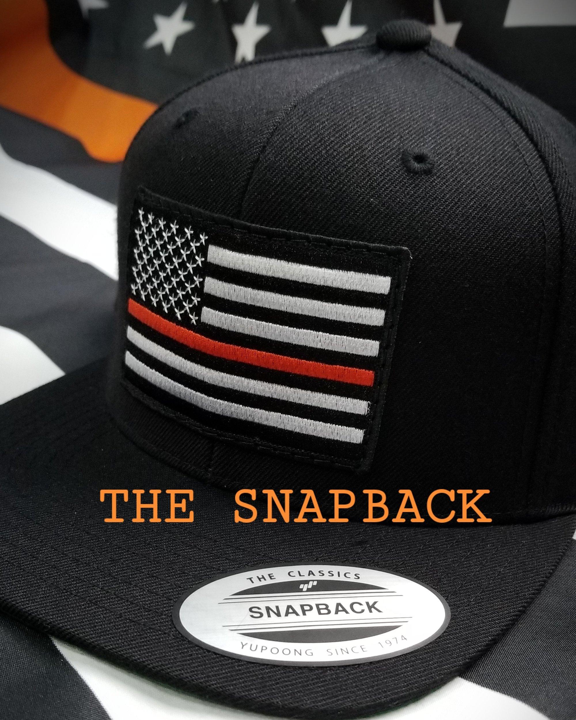 Image of Against Animal Cruelty American orange thin line flag black hat 81cec66d46f