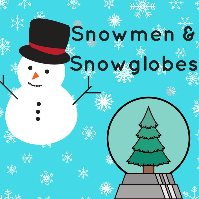 Image of Snowmen and Snowglobes Thursday 11 July 9 -12