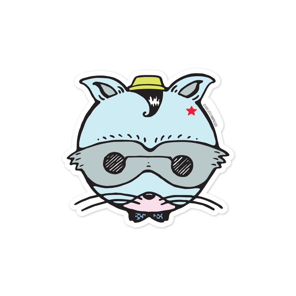 Image of Raccoon Sticker