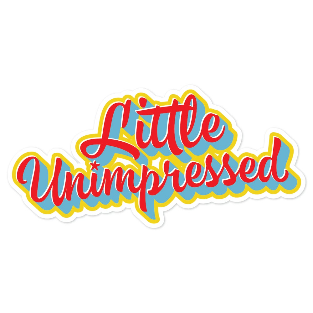 Image of Little Unimpressed Sticker