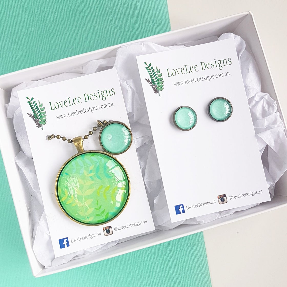 Image of NEW! Gift Set - Misty Leaves