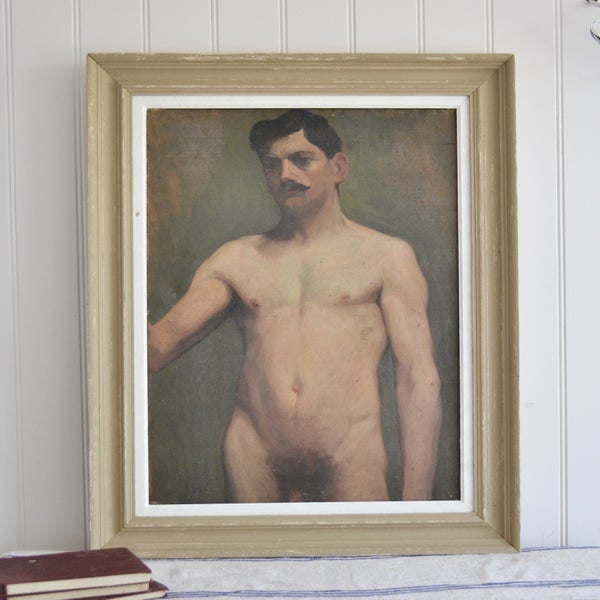 Image of Early 20th Century, Male Nude