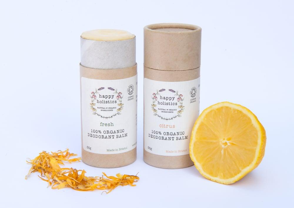 Image of 100% Organic Vegan Deodorant 75g