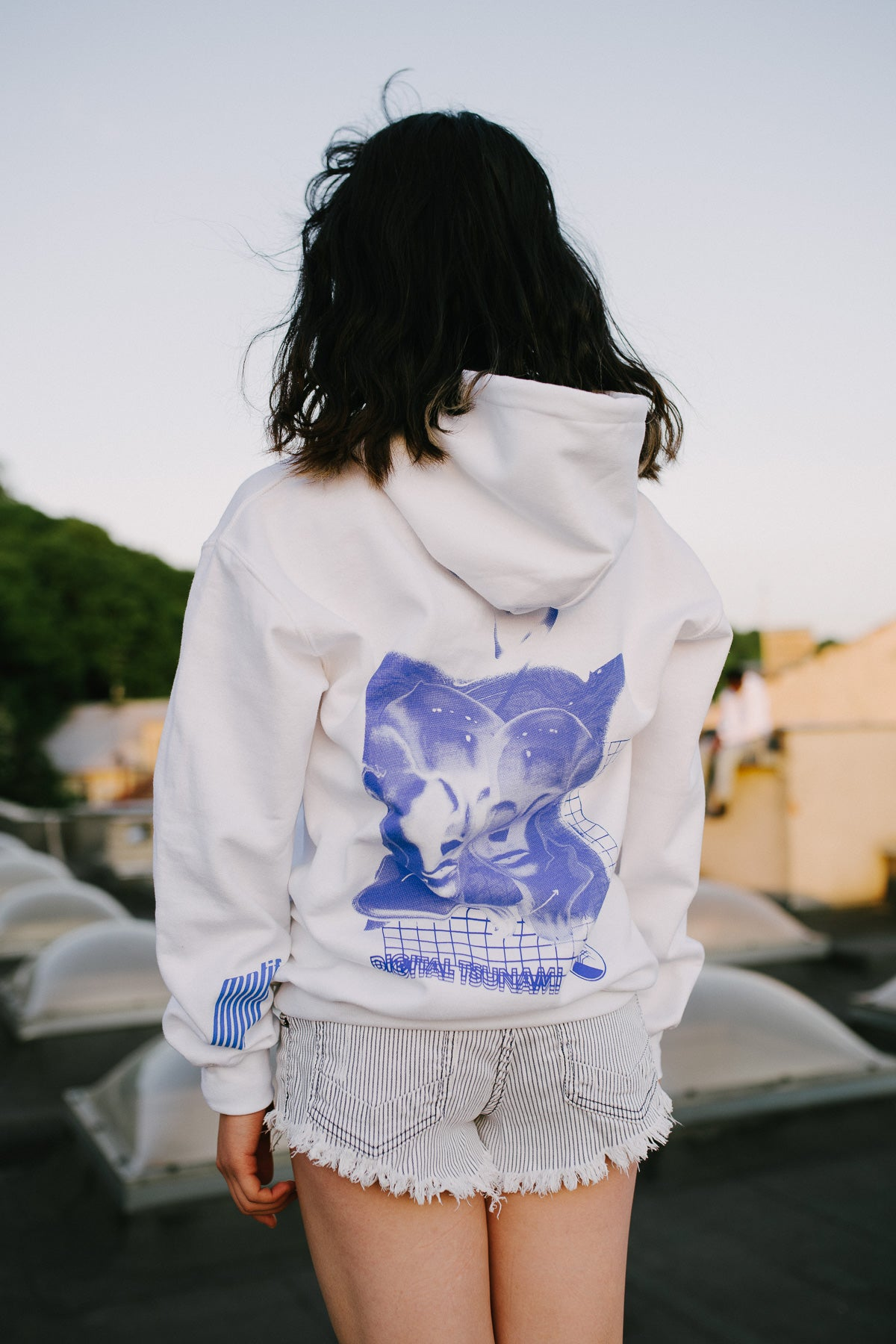 Image of DT Hoodie (white)