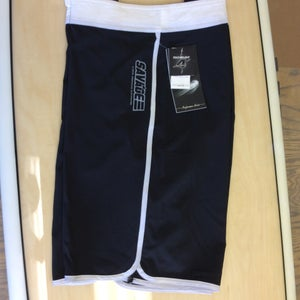 Image of Savage 4-way stretch Board Shorts Black/White