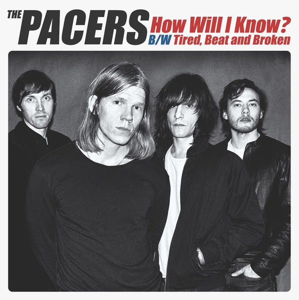 "Image of The Pacers - How Will I Know? 7"" Vinyl"