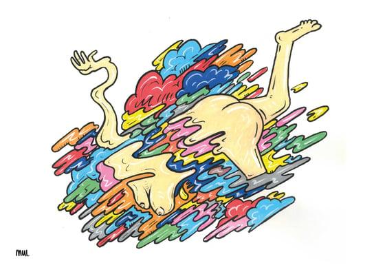 Image of Y O U - S H O U L D - B E - D A N C I N G - Y E A H  - (Print)